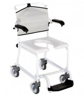 Silla de ducha con ruedas LEVINA - Ortopedia ITOMI