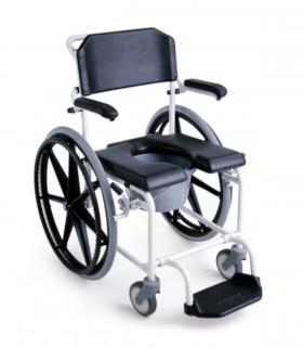 Silla de ducha con rueda de 600 LEVINA - Ortopedia ITOMI