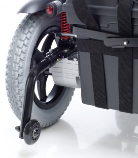 Silla de ruedas plegable de aluminio DROMOS