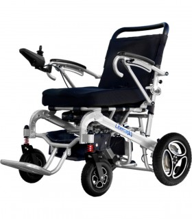 Silla de ruedas eléctrica plegable AURA - Ortopedia ITOMI