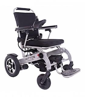 Silla de ruedas eléctrica plegable KITTOS COUNTRY - Ortopedia ITOMI