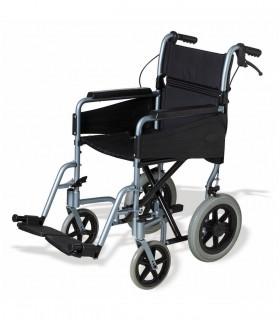 Silla de ruedas plegable con chasis de aluminio PL80 - Ortopedia ITOMI