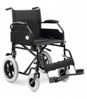 silla de ruedas con chasis de acero PC-20 - Ortopedia ITOMI