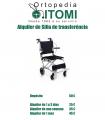 Alquiler silla de transferencia