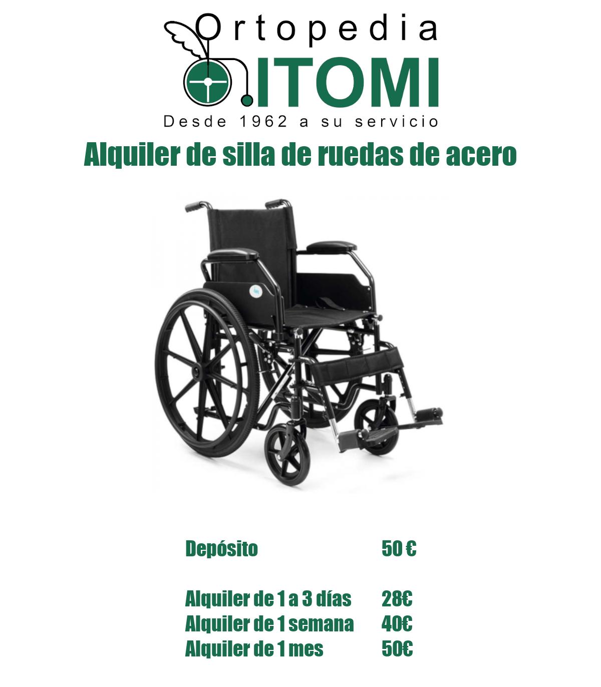 iva alquiler silla de ruedas