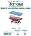Alquiler cama articulada elevable