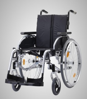 Silla de ruedas de aluminio PYRO LIGHT OPTIMA de B&B. De venta en Ortopedia ITOMI