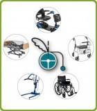 Alquiler artículos ortopedia