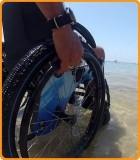 Sillas de ruedas playa